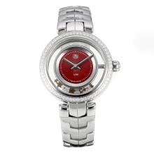Tag Heuer Enlace Con Dial Red S / S
