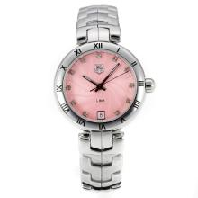 Bisel Tag Heuer Enlace Romana Con Dial Rosa S / S