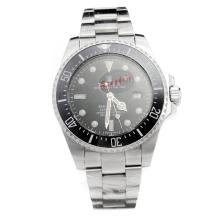 Rolex Sea-Dweller Automatic Ceramic Bezel with Black Dial S/S-Oversized Version