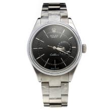 Rolex Cellini Automatic with Black Dial S/S-1