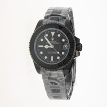 Rolex Yachtmaster Automatic Full PVD with Black Dial