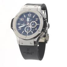 Hublot Big Bang Automatic with Black Dial-Rubber Strap
