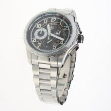 Tag Heuer Carrera CAL. HEUER 01 Working Chronograph with Black Dial S/S