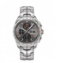 Tag Heuer Carrera Calibre 16 Working Chronograph with Black Dial S/S