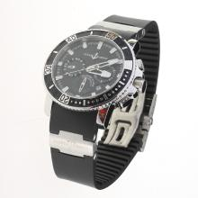 Ulysse Nardin Marine Diver Automatic with Black Dial-Rubber Strap