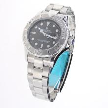 Rolex Yachtmaster Automatic with Dark Gray Dial S/S