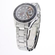Rolex Yachtmaster Automatic Ceramic Bezel with Dark Gray Dial S/S