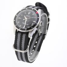 Rolex Milgauss Automatic Black Checkered Dial with Nylon Strap-Vintage Edition