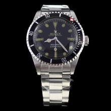 Rolex Submariner Swiss ETA 2836 Movement with Black Dial S/S-Vintage Editioin-3