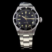 Rolex Submariner Swiss ETA 2836 Movement with Black Dial S/S-Vintage Editioin-1