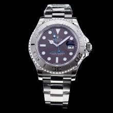 Rolex Yachtmaster Swiss ETA 2836 Movement with Gray Dial S/S-High Quality Version
