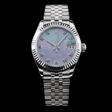 Rolex Datejust Swiss ETA 2836 Movement with Blue MOP Dial-Mid Size