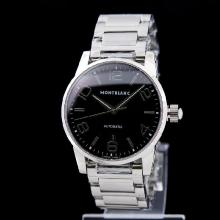 Montblanc Time Walker Automatic Swiss ETA 2836 Movement with Black Dial 1